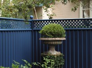 Coloured Fence Panels